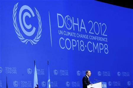 Doha climate talks throw lifeline to Kyoto Protocol