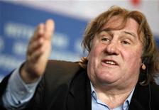 El actor Gerard Depardieu se ha convertido en el último francés en buscar refugio fuera de su país nativo después de una serie de subidas de impuestos llevadas a cabo por el presidente socialista François Hollande a los ricos. En la imagen, de archivo, el actor Gérard Depardieu. REUTERS/Christian Charisius