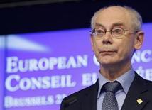 Il presidente del Consiglio europeo, Herman Van Rompuy. REUTERS/Sebastien Pirlet