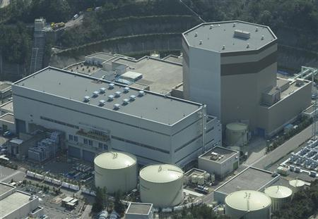 Japan Atomic Power Co.'s Tsuruga Nuclear Power Plant No.2 reactor is seen in Tsuruga, Fukui Prefecture, in this photo taken by Kyodo on March 14, 2010. REUTERS/Kyodo