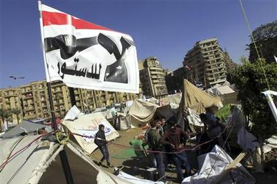 Egypt army gets temporary power to arrest civilians