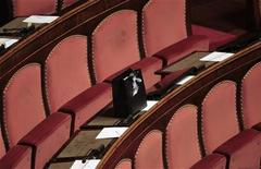 Scranni del Senato a Roma REUTERS/Alessandro Bianchi