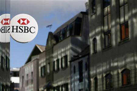A bank branch of HSBC is seen in St Helier, Jersey November 11, 2012. REUTERS/Stefan Wermuth (JERSEY - Tags: BUSINESS)