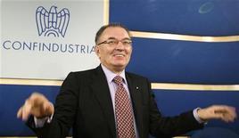 Giorgio Squinzi, presidente di Confindustria. REUTERS/Remo Casilli
