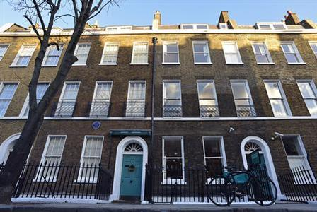 A general view shows the Charles Dickens Museum in central London December 10, 2012. REUTERS/Toby Melville