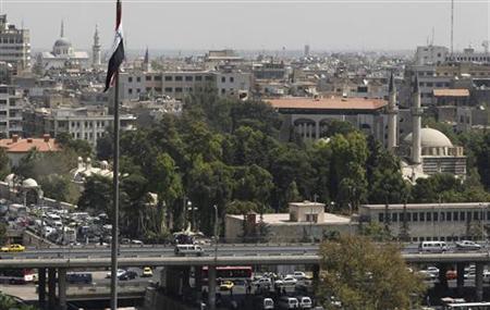 A view shows part of Damascus city September 20,2012. REUTERS/Khaled al-Hariri