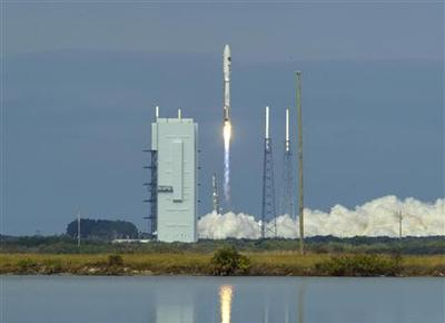 U.S. military's secret mini-shuttle lifts off from...