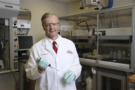 Eli Lilly's research chief Dr. Jan Lundberg Ph.D is shown in this undated handout photo supplied by Lilly December 7, 2012. Just as the Indianapolis company made history in the 1920s by producing the first insulin, Lundberg said Lilly feels confident its efforts against Alzheimer's will succeed and make an equally impressive mark. REUTERS/Eli Lilly/Handout