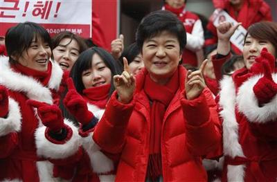 Is South Korea ready for ''Madam President''?