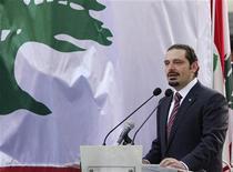 L'ex-primo ministro libanese Saad al-Hariri. REUTERS/ Mohamed Azakir