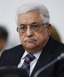 Palestinian President Mahmoud Abbas listens during the Special Meeting of the Committee on the Exercise of the Inalienable Rights of the Palestinian People, in observance of the International Day of Solidarity with the Palestinian People, at the U.N. headquarters in New York, November 29, 2012. REUTERS-Chip East