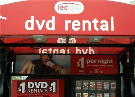 A Redbox automated DVD rental kiosk is seen in Golden, Colorado September 16, 2009. REUTERS/Rick Wilking/Files