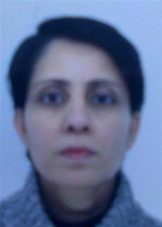 Nurse Jacintha Saldanha is seen in this undated handout photograph released by the Metropolitan Police in London December 8, 2012. REUTERS/Metropolitan Police/Handout