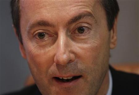 Airbus CEO Fabrice Bregier speaks during an interview with Reuters in London, December 3, 2012. REUTERS/Simon Newman