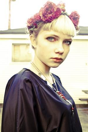 Teenage writer, fashion blogger and editor Tavi Gevinson is shown in a recent handout photo. Gevinson has accomplished more in her 16 years than most people double her age. REUTERS/Tavi Gevinson/Handout