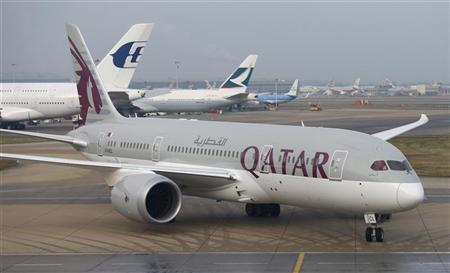 Qatar Air says grounds Boeing 787 for same problem as...