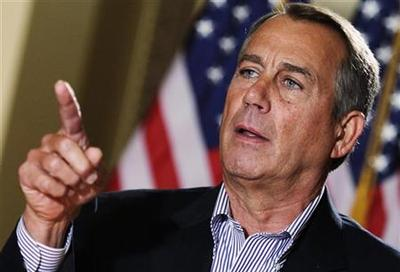 Boehner: White House willing to ''slow-walk'' up to...