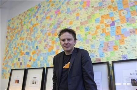 Matthew Prince, chief executive at an internet start-up company called CloudFlare, poses in his office in San Francisco December 10, 2012. REUTERS/Gerry Shih/Files