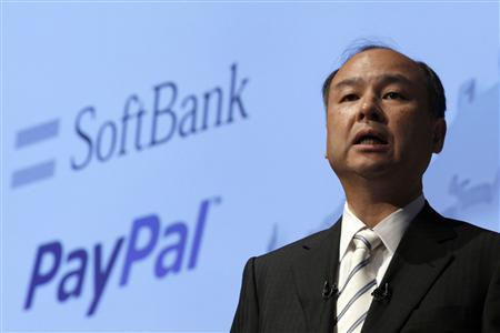 Softbank Corp President Masayoshi Son speaks during a news conference in Tokyo in this May 9, 2012 file photo. REUTERS/Yuriko Nakao/Files