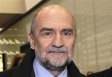 Chefe da comissão de AIEA, Herman Nackaerts, disse que inspetores fizeram progresso na reunião de quinta-feira em Teerã. 14/12/2012 REUTERS/Herwig Prammer