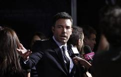 "Director and cast member Ben Affleck is interviewed at the premiere of ""Argo"" at the Academy of Motion Picture Arts and Sciences in Beverly Hills, California October 4, 2012. REUTERS/Mario Anzuoni"