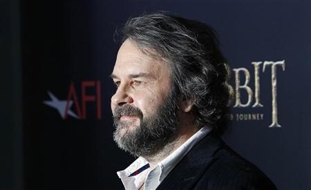 Director Peter Jackson arrives for the premiere of his movie ''The Hobbit: An Unexpected Journey'' in New York December 6, 2012. REUTERS/Carlo Allegri