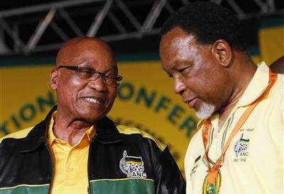 South Africa is not ''falling apart'': Zuma