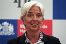 Diretora do FMI Christine Lagarde disse que economias avançadas deverão crescer 1,6 por cento em 2013, acima da projeção para o próximo ano. 13/12/2012 REUTERS/Ivan Alvarado