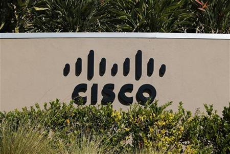 A sign marking a Cisco office is pictured in San Diego, California November 12, 2012. REUTERS/Mike Blake