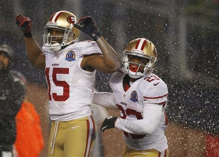 49ers stave off furious Patriots fightback to reach playoffs