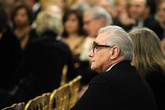 Director Martin Scorcese takes a seat in the East Room for a reception for Kennedy Center Honorees at the White House in Washington, in this December 6, 2009 file photo. REUTERS/Jonathan Ernst