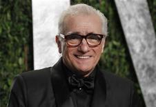 Cineasta Martin Scorsese é visto durante festa da revista Vanity Fair, em fevereiro, nos EUA. Scorsese, vencedor do Oscar, acompanhará de perto e pessoalmente com Bill Clinton a produção de um documentário sobre o ex-presidente norte-americano, afirmou nesta segunda-feira o canal a cabo HBO. 26/02/2012 REUTERS/Danny Moloshok