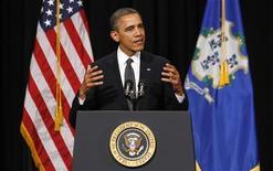 Il presidente Usa Barack Obama. REUTERS/Kevin Lamarque