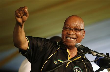 South Africa's Zuma boosted by Ramaphosa return...