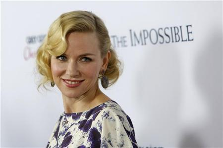 Actress Naomi Watts arrives at the premiere of the movie ''The Impossible'' at Arclight Cinema in Hollywood, California December 10, 2012. REUTERS/Patrick T. Fallon