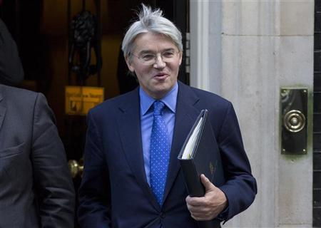 Andrew Mitchell leaves 10 Downing Street after a cabinet meeting, in central London October 16, 2012. REUTERS/Neil Hall