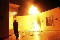 Ataque a consulado norte-americano na Líbia matou o embaixador dos Estados Unidos em setembro. 11/09/2012 REUTERS/Esam Al-Fetori
