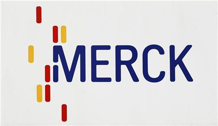 A branch of drugs and chemicals group Merck is pictured in central German city of Darmstadt March 7, 2012. REUTERS/Alex Domanski