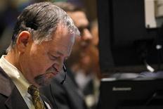 Traders a lavoro. REUTERS/Brendan McDermid