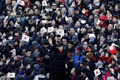 Park wins South Korea presidency, to be first woman...