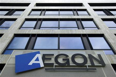 The head office of Dutch financial insurance company Aegon is seen in The Hague, October 28, 2008. REUTERS/Stringer