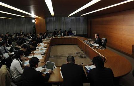 Bank of Japan Governor Masaaki Shirakawa speaks during a news conference in Tokyo December 20, 2012. REUTERS/Yuya Shino (JAPAN - Tags: BUSINESS)