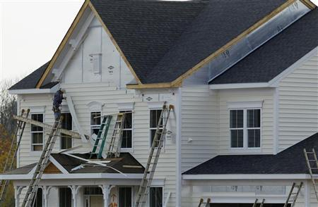 New housing construction is seen in Poolesville, Maryland, October 23, 2012. REUTERS/Gary Cameron