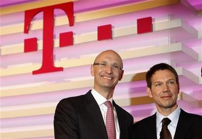 Deutsche Telekom finance chief to replace CEO Obermann