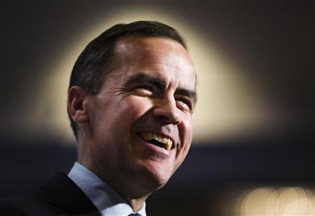 Bank of Canada Governor Mark Carney speaks to the business community during a luncheon in Toronto, December 11, 2012. REUTERS/Mark Blinch