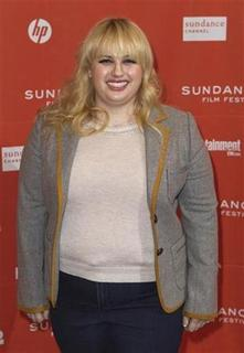 Cast member Rebel Wilson arrives for the premiere of the film ''Bachelorette'' during the Sundance Film Festival in Park City, Utah January 23, 2012. REUTERS/Lucas Jackson