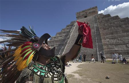 Maya 'end of days' dawns in Mexico, world...