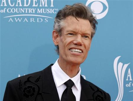 Singer Randy Travis arrives at the 45th annual Academy of Country Music Awards in Las Vegas, Nevada April 18, 2010. REUTERS/Steve Marcus