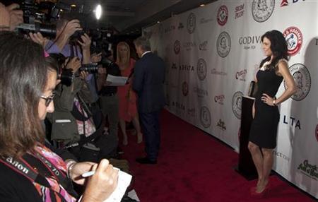 Bethenny Frankel attends The Friars Club Roast of Betty White in New York May 16, 2012. REUTERS/Andrew Kelly/Files