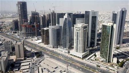 A general view of Doha city with buildings under construction December 24, 2012. REUTERS/Fadi Al-Assaad